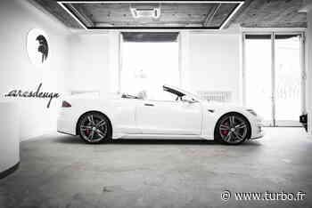 PHOTOS - La Tesla Model S cabriolet signée Ares Design en images - Turbo.fr