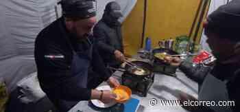 El 'otro' Eneko o cómo cocinar a cinco mil metros de altitud - El Correo