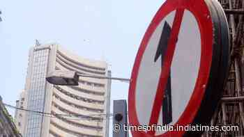 Sensex down by over 500 points to close at 48,348