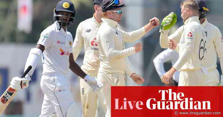 England beat Sri Lanka by six wickets in second Test to sweep series – live!