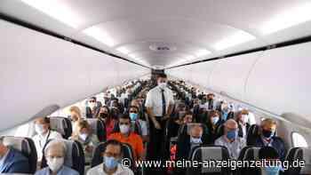 Maskenverweigerer im Ferienflieger: Männern droht Bußgeld von 25.000 Euro