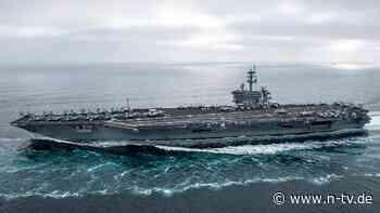 "Peking sieht ""Frieden bedroht"": USA schicken Flugzeugträger ins Südchinesische Meer"