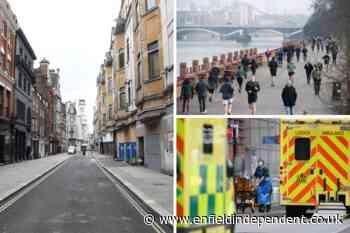 Google mobility data shows London in Covid lockdown