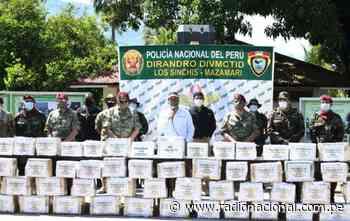 Junín: Policía Nacional decomisa tonelada y media de droga en Mazamari | Nacional - Radio Nacional del Perú