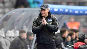 Zum zweiten Mal Cheftrainer: Dardai muss Hertha noch einmal retten