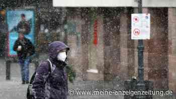 Wetter: DWD gibt Warnungen für ganz Bayern aus - mancherorts bis zu 30 Zentimeter Neuschnee