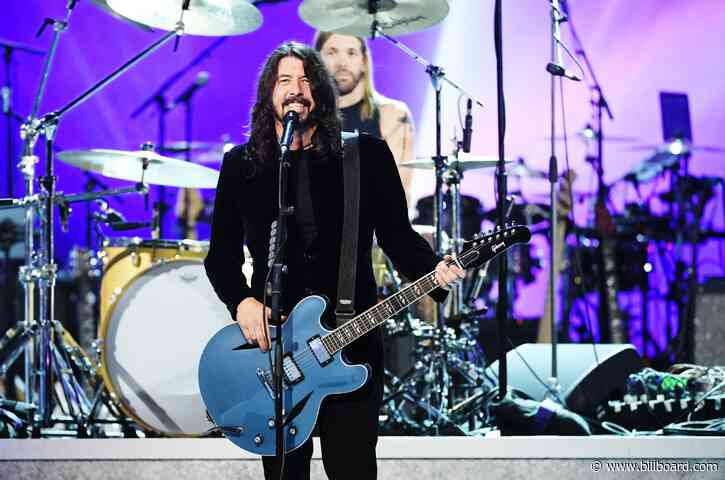 Foo Fighters Launching Limited Channel on SiriusXM