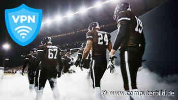 Super Bowl: Original-Live-Übertragung via VPN