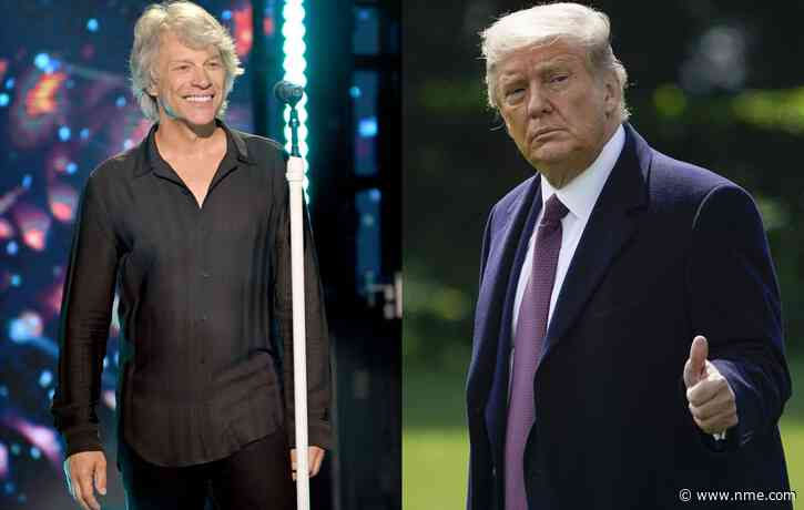 "Jon Bon Jovi reflects on ""scarring"" Trump feud after rival bids to buy NFL team"