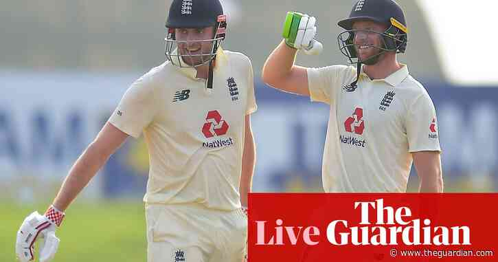 England beat Sri Lanka in second Test to sweep series – as it happened