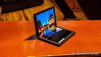 Lenovos erster faltbarer PC: Das Thinkpad X1 Fold kommt aus dem Knick