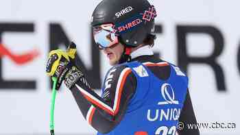 Canadian Jack Crawford finishes career-best 6th in World Cup super-G