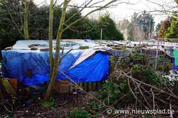 Bewoners hebben kamp niet verlaten: NMBS gaat ontzettingsprocedure opstarten