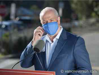 COVID-19: B.C. Premier says pandemic has 'turned our lives upside down'