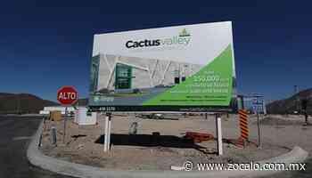 Llega parque industrial de Cactus Valley a Parras de la Fuente - Periódico Zócalo