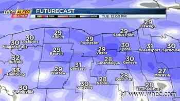 Yellow Alert: Widespread snowfall Tuesday