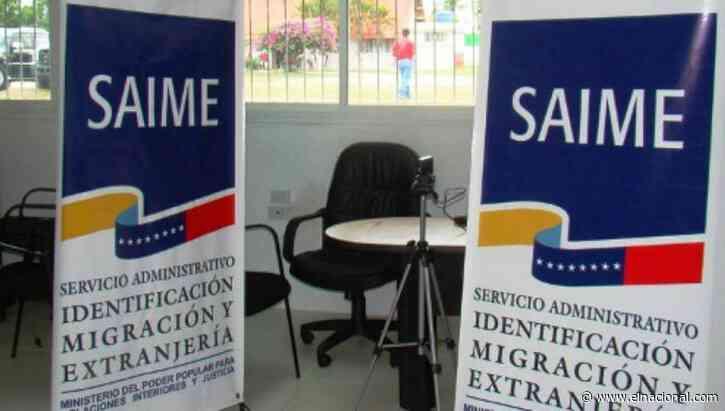 Largas colas en oficinas del Saime en inicio de jornadas de cedulación para menores de edad