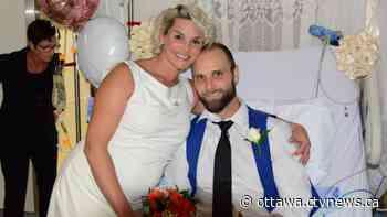 Manotick couple marries at Ottawa Heart Institute before life-saving surgery   CTV News - CTV News