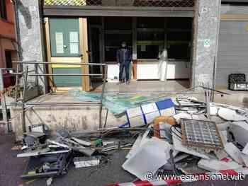 Assalto all'ufficio postale di Merone, sportelli ancora chiusi per i danni - Espansione TV