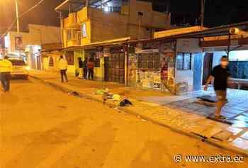 Manjar fue abatido durante persecución en Machala - Portal Extra