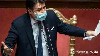 Mitten in Corona-Pandemie: Italiens Premier Conte steht vor Rücktritt