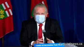 Coronavirus: Ford says it's 'absolutely critical' to test every person entering Pearson Airport for COVID-19
