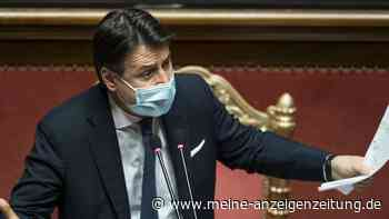 Paukenschlag in Italien: Ministerpräsident Conte kündigt Rücktritt an