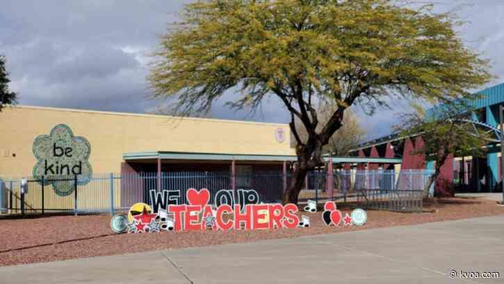 Vail, Marana bring students back into the classrooms Monday