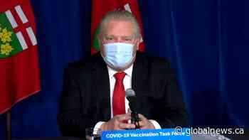 Coronavirus: Ontario officials discuss COVID-19 outbreak at Barrie nursing home