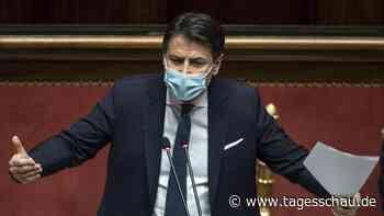 Italienischer Ministerpräsident Conte kündigt Rücktritt an