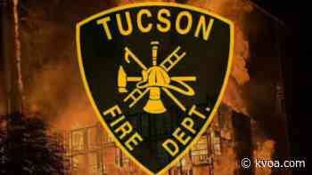 Emergency crews respond to house fire on Tucson's south side