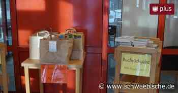 In der Gemeindebücherei Meckenbeuren gibt es Literatur-to-go jetzt völlig kontaktlos zum Abholen - Schwäbische