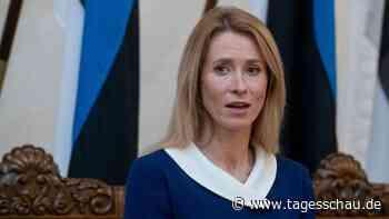 Estland bekommt erstmals eine Regierungschefin