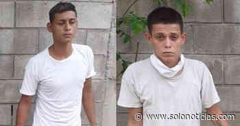 Nacionales 2020-05-26 Pandilleros capturados por homicidio cometido en San Pablo Tacachico, La Libertad - Solo Noticias