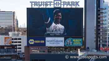 Hank Aaron memorial service will be held at Braves' Truist Park on Tuesday