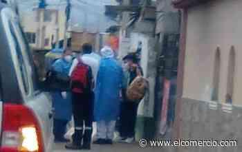 Mujer de 83 años falleció de un paro cardiaco en una vereda de la parroquia Izamba, en Ambato