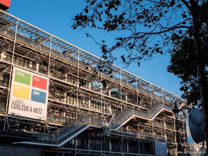 Paris's Centre Pompidou Faces Years-Long Closure Amid RenovationEffort