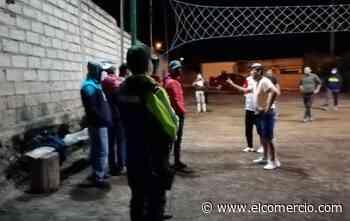Las fiestas clandestinas y las canchas deportivas los sitios con más aglomeración, en Tungurahua