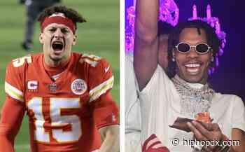 Super Bowl LV-Bound Patrick Mahomes Shows Lil Baby & Tech N9ne Epic Love