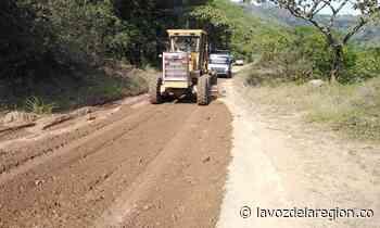 Avanza recuperación de carreteras en la zona rural de Aipe - Noticias