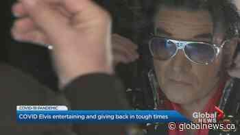 Hamilton vocal entertainer is doing street serenades as 'COVID Elvis'