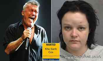 Police release wanted poster for a woman who will ring a bell with anyone who's a fan of Cold Chisel