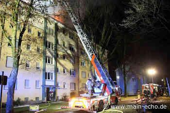 Dachstuhlbrand in Aschaffenburg-Damm offenbar Brandstiftung - Main-Echo