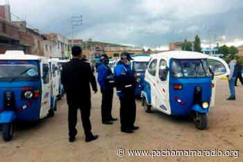 El Collao: población de Ilave pide mayor control a mototaxistas - Pachamama radio 850 AM