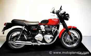 Triumph Bonneville T100 17 2020 à 9860€ sur COIGNIERES - Occasion - Motoplanete