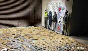 Le incautan cargamento de marihuana al GAOr Dagoberto Ramos en Yumbo, Valle - Caracol Radio