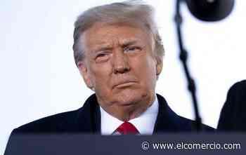 Presentan acusación contra Trump ante el Senado, para iniciar juicio político