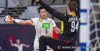 Historische Pleite: Deutsche Handballer nur WM-Zwölfter - WESER-KURIER