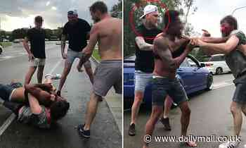 YouTuber jumps in to try and break up brutal two on one street fight
