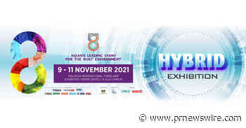 The Leading Event for the Built Environment -- ASEAN Super 8 -- Will Now Take Place from 9 - 11 November 2021 in Enhanced Format Exhibition